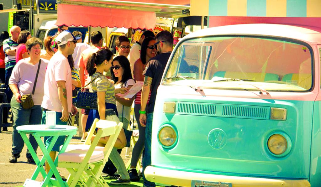 Food Trucks no Primavera Aruã:<br>Uma Delícia e Muita Simpatia!