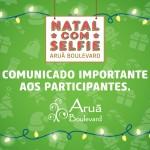 """Comunicado Importante aos participantes do Concurso """"NATAL com SELFIE"""""""