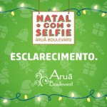 """Esclarecimento Promotora do Concurso """"NATAL com SELFIE"""""""